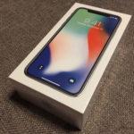 Caja del iPhone X