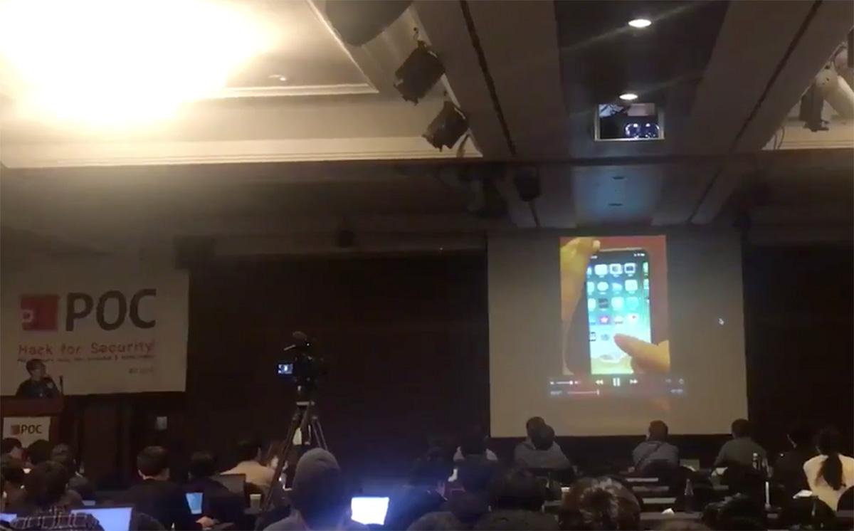 Demostración Jailbreak iOS 11 en iPhone X