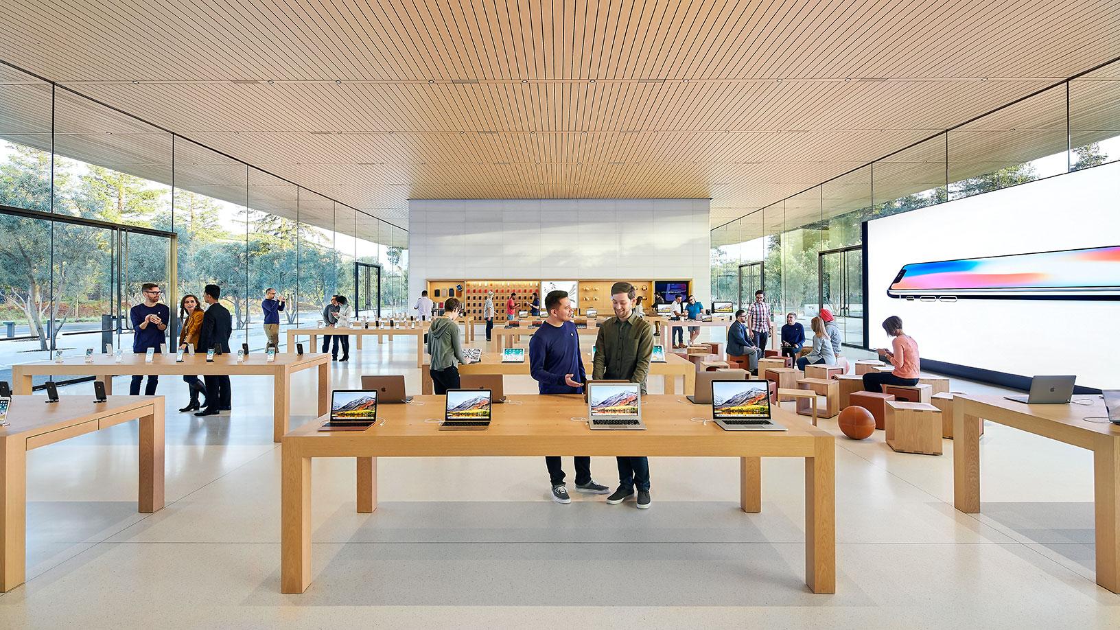 Visitor Center del Apple™ Park