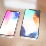 Concepto de boceto del iPhone X Plus