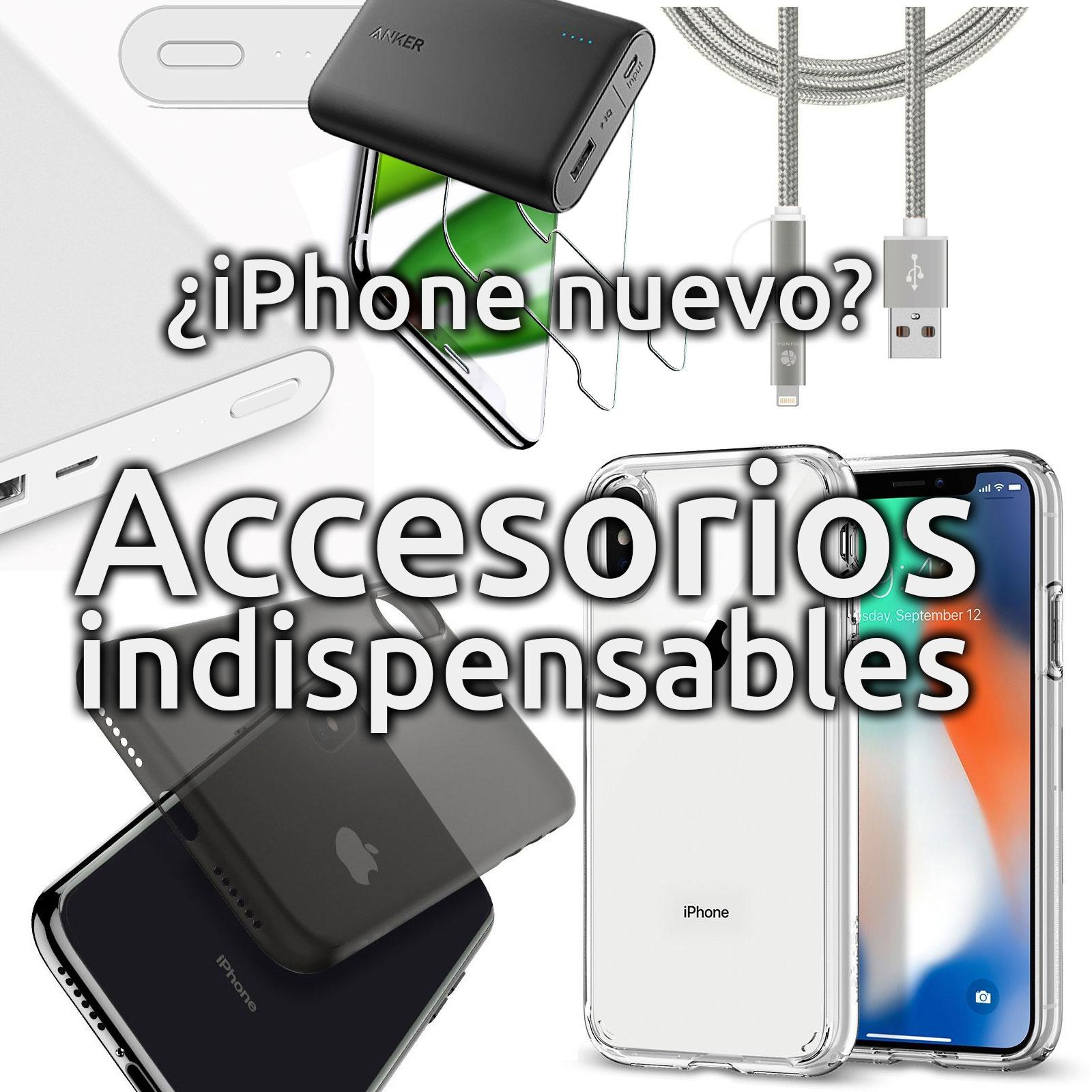 ¿iPhone nuevo? Accesorios indispensables
