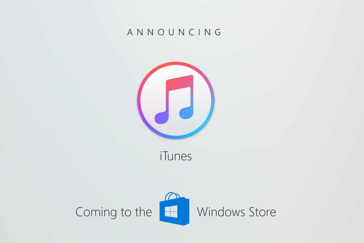 iTunes en la Windows Store