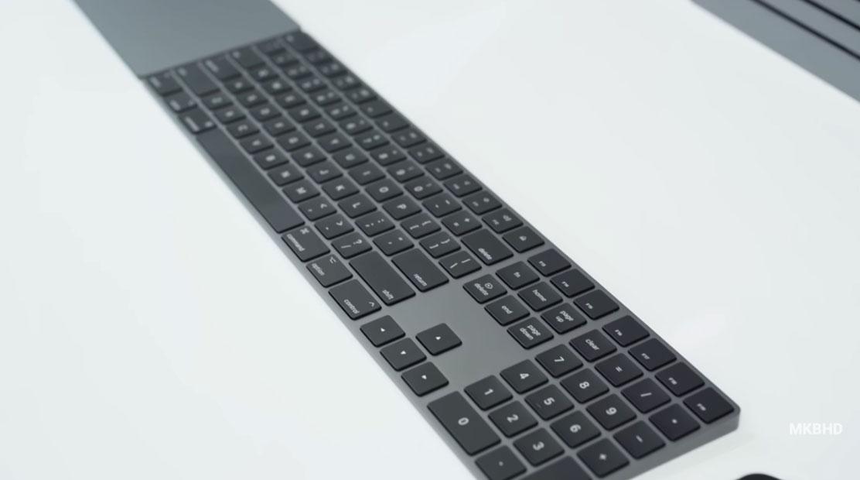 Teclado negro del iMac