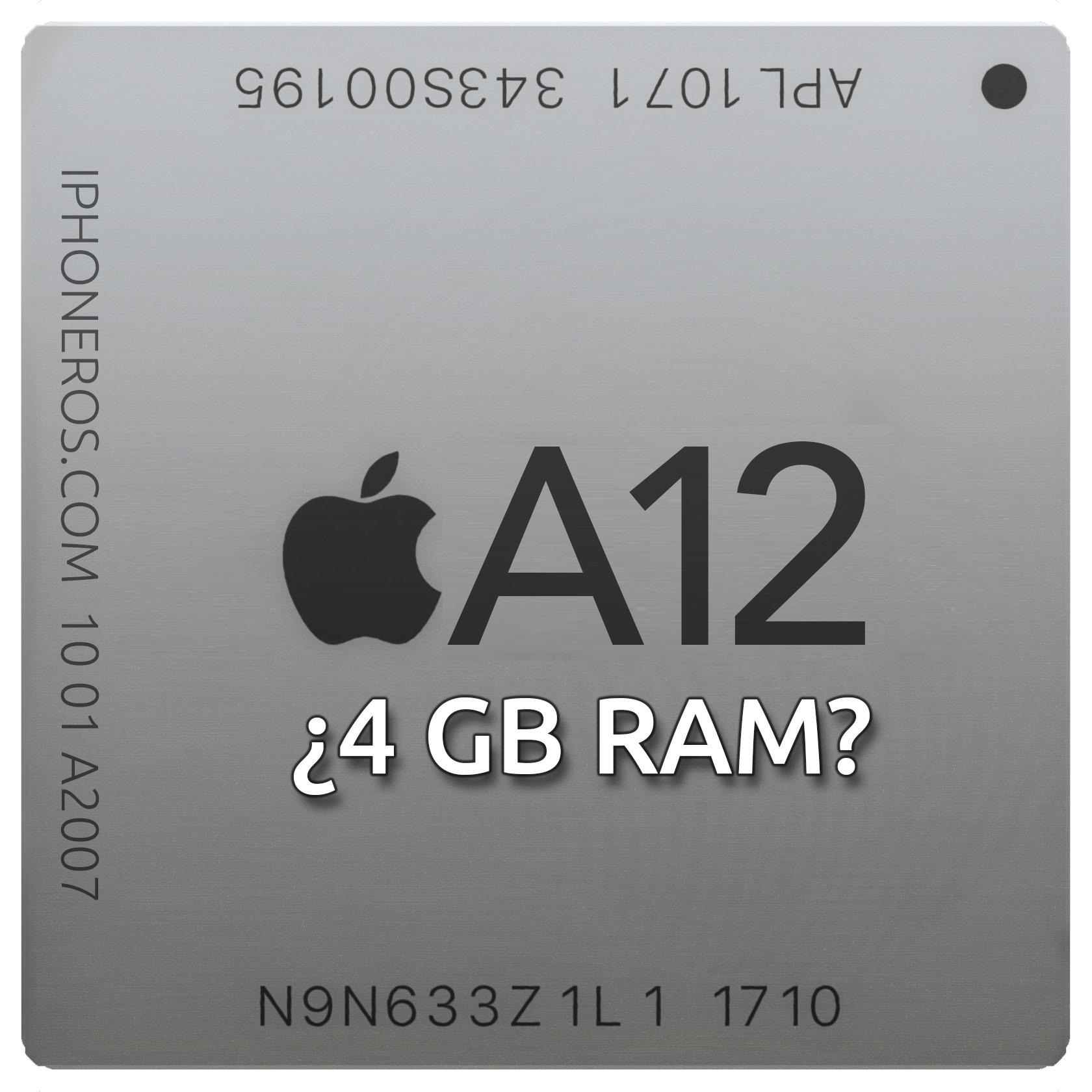 A12 ¿4 GB de RAM?