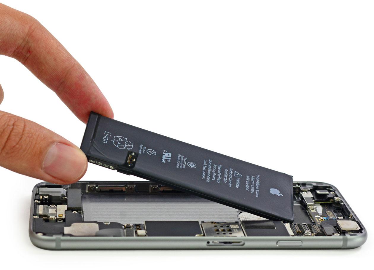 Cambio de batería en el iPhone 6