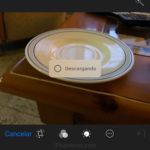 Mensaje 'Descargando' en las imágenes que queremos editar en el iPhone