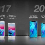 Supuestos nuevos modelos de iPhone para el 2018