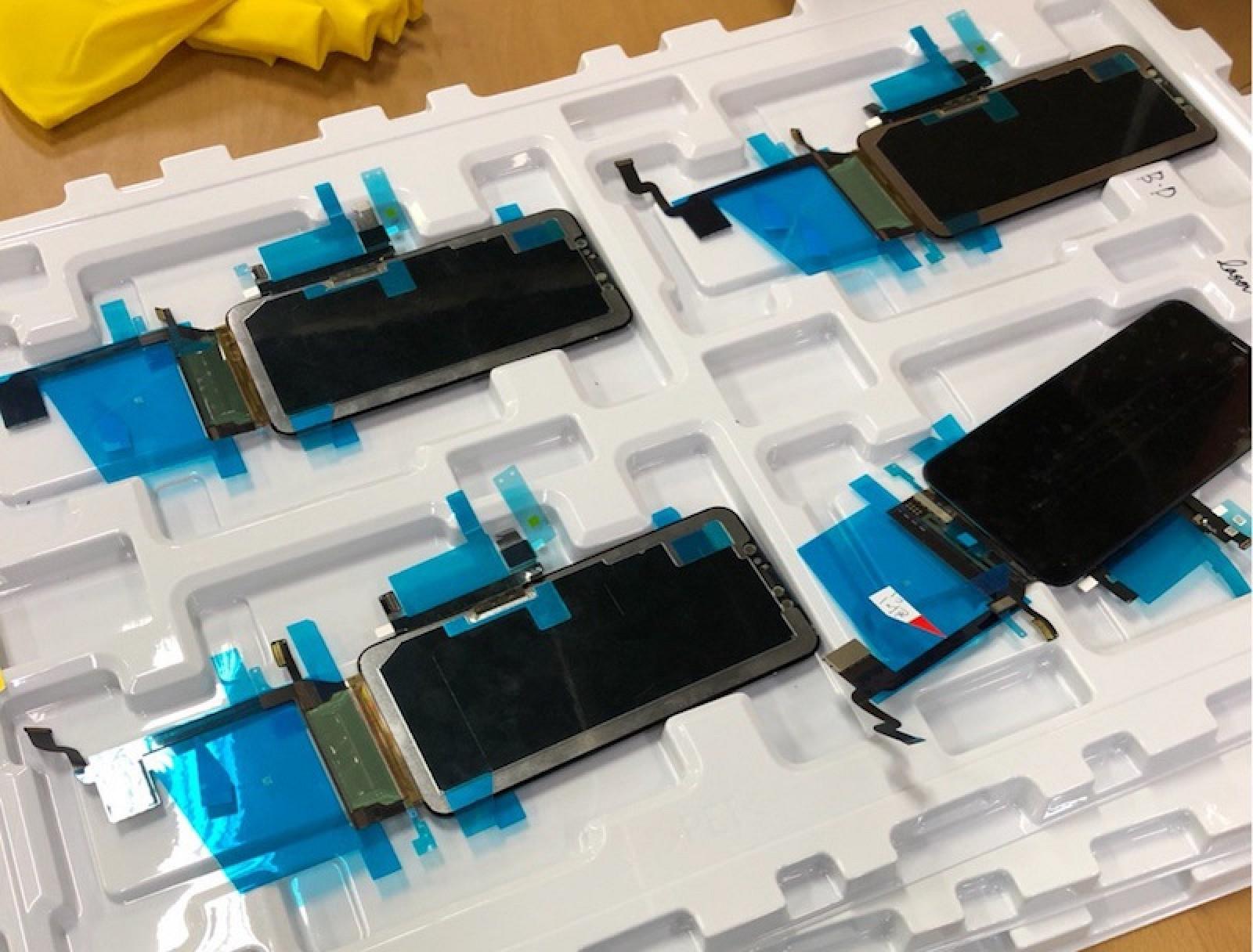 Pantalla, cristal y digitalizador del supuesto iPhone X Plus