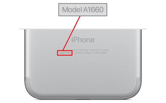 Modelos de iPhone 7 afectados por el bug de la falta de cobertura