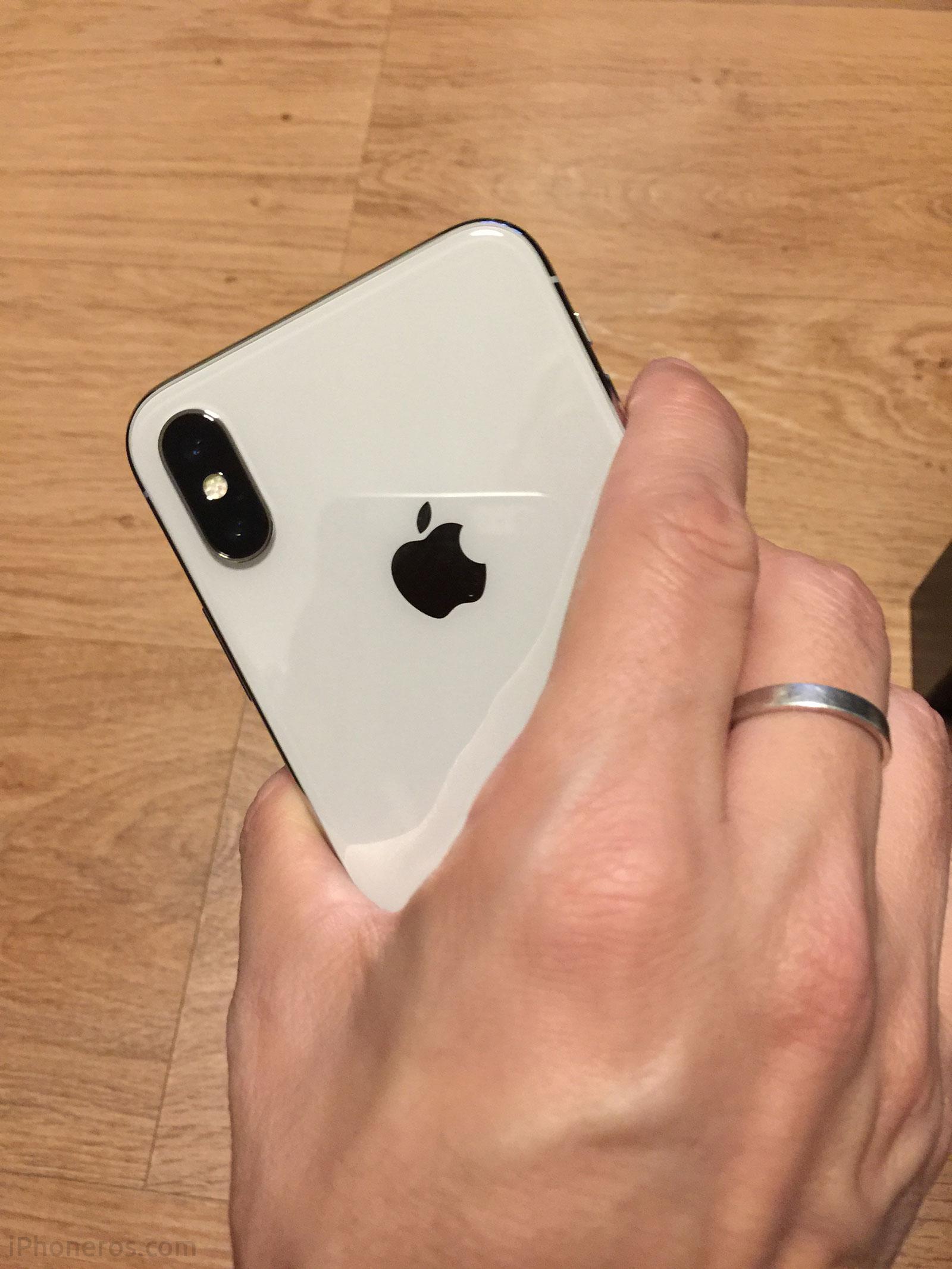 iPhone X Plata / Blanco