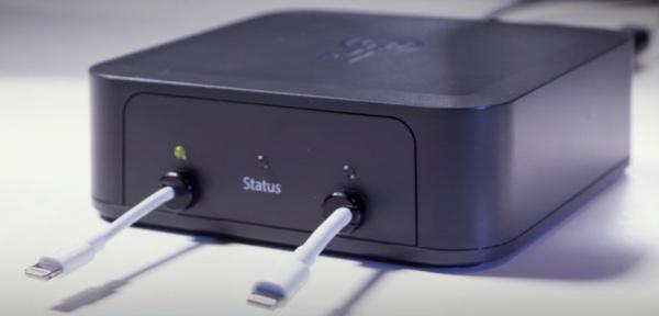 Caja negra utilizada para desbloquear iPhone