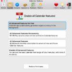 Opciones de minado de criptomonedas en Calendar dos para Mac