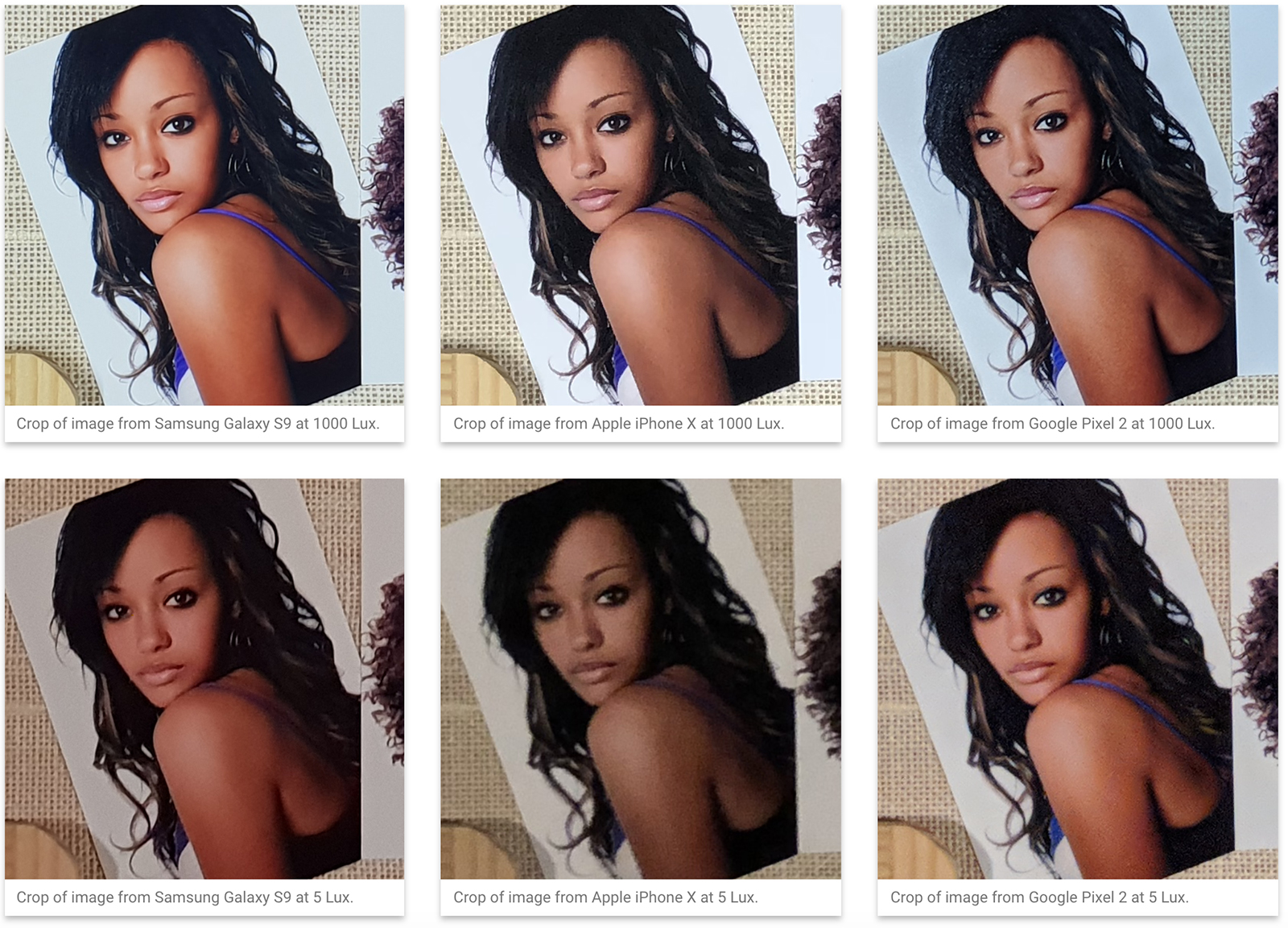Comparando fotos del Galaxy S9+, Pixel 2, iPhone X