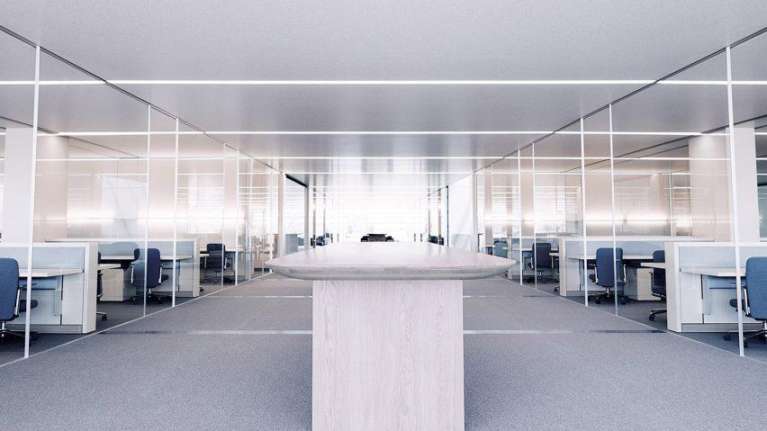 Dentro de las oficinas de Apple en el Apple Park