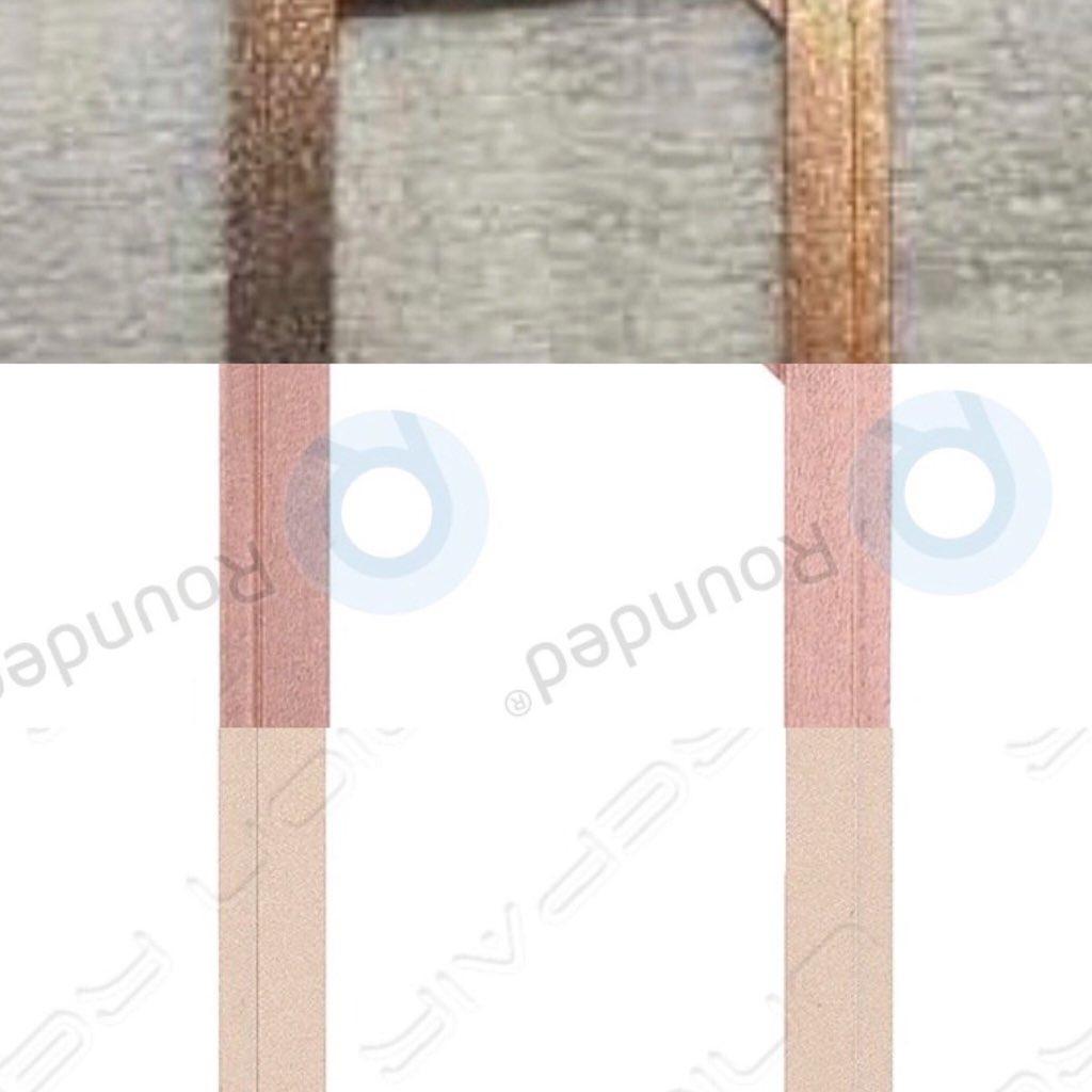 Piezas del Hipotético iPhone X dorado