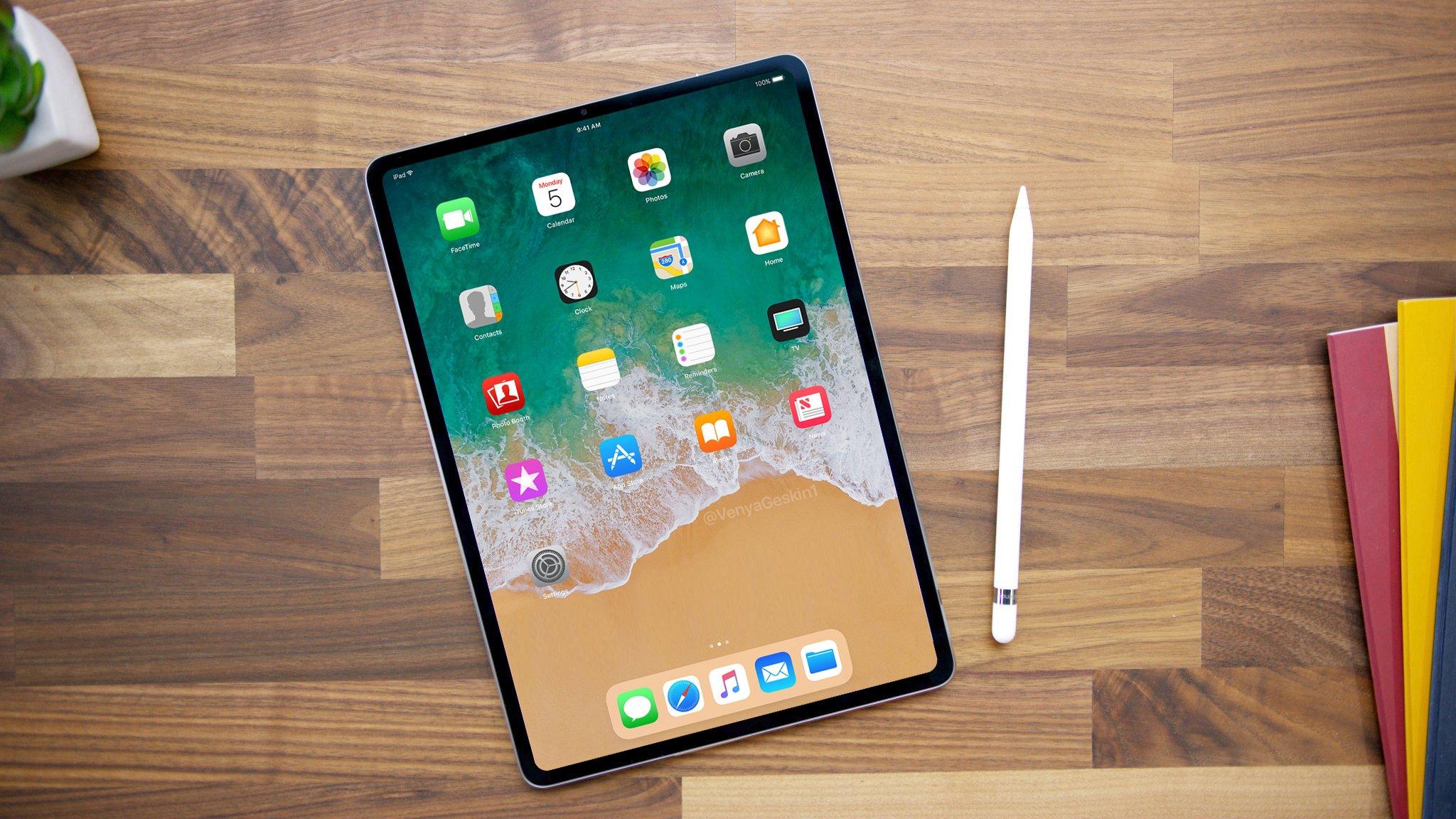 iPad con pantalla hasta los bordes
