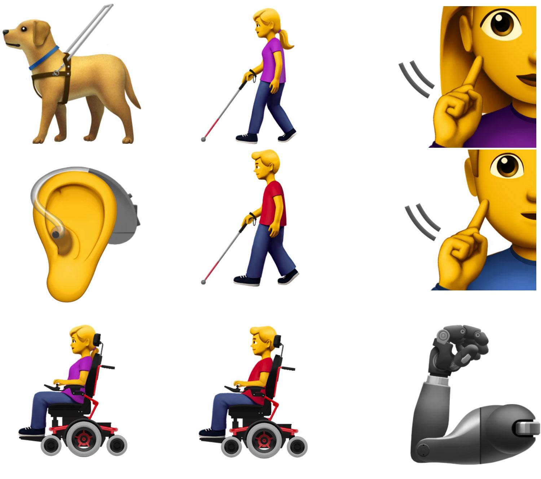 Nuevos emojis propuestos por Apple
