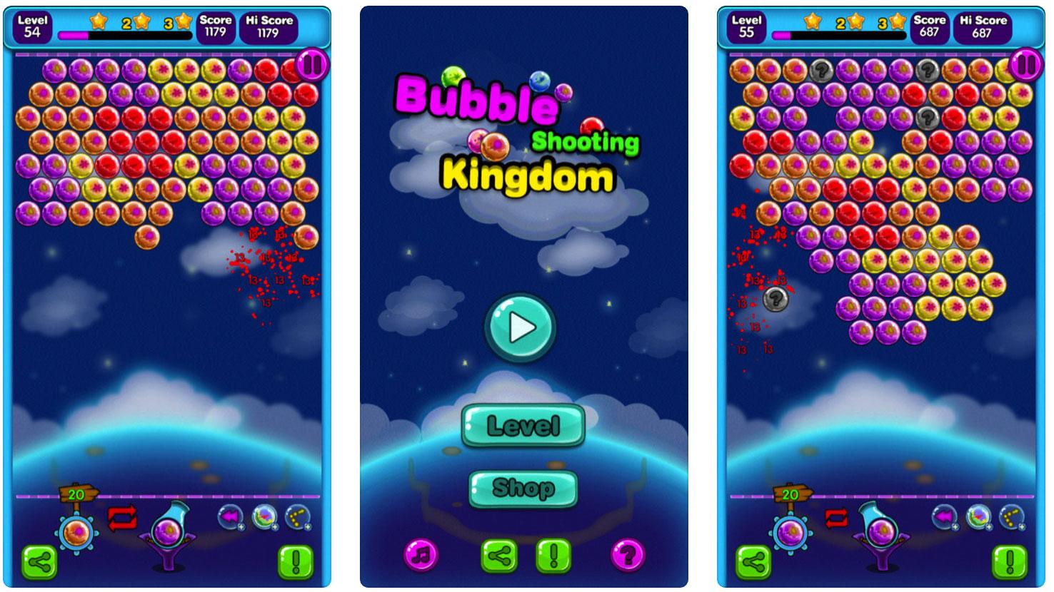Bubble Shooting Kingdoms