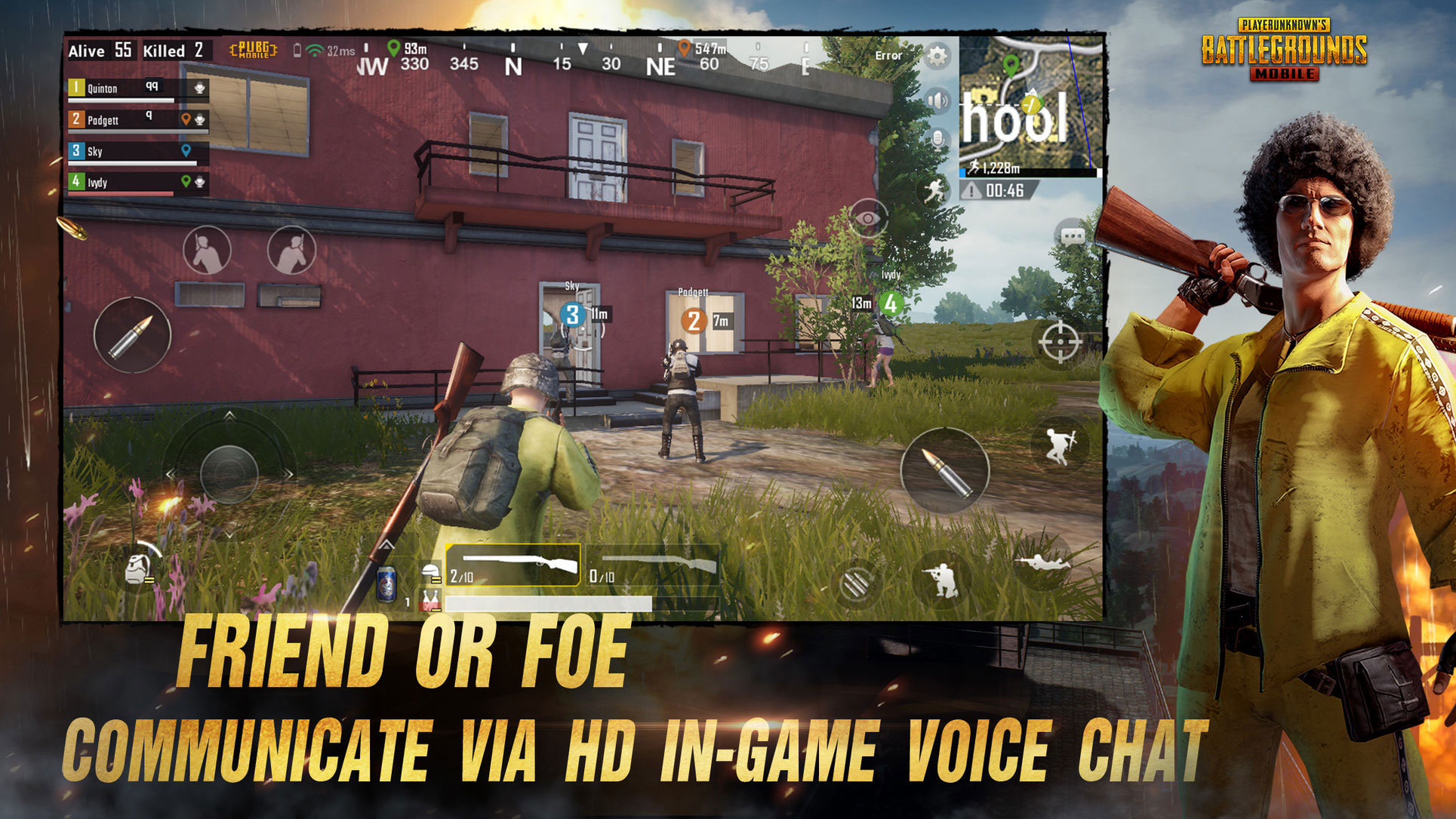 PlayerUnknown's Battlegrounds para iOS