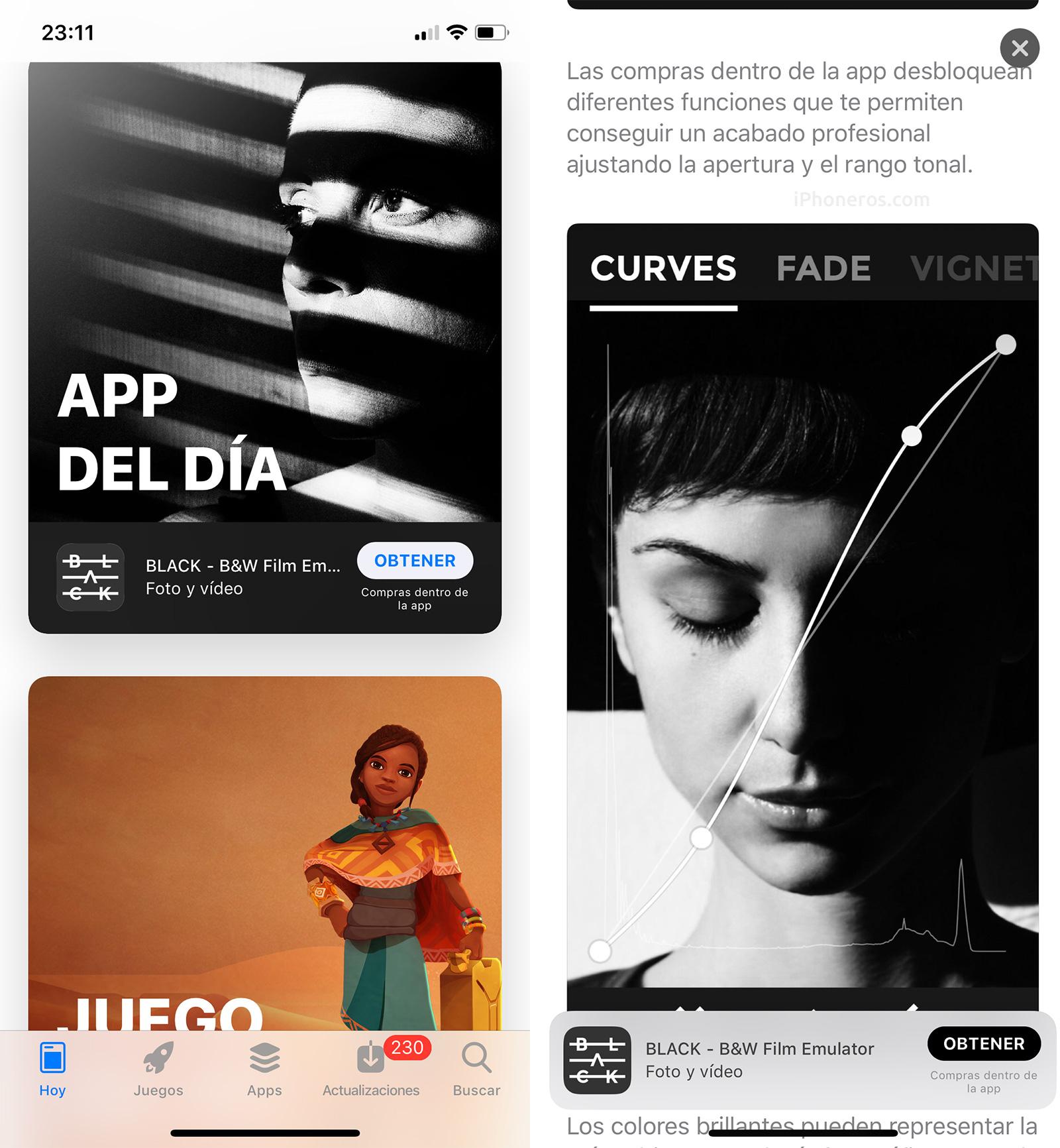 App del día y Juego del día en la App Store