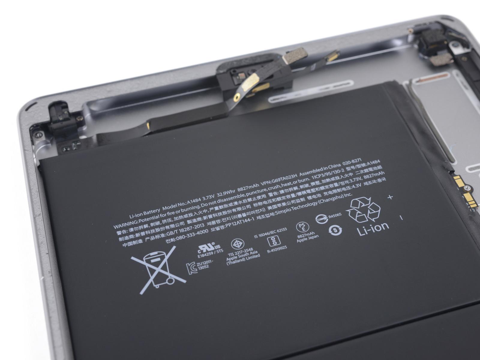 Batería del iPad 6