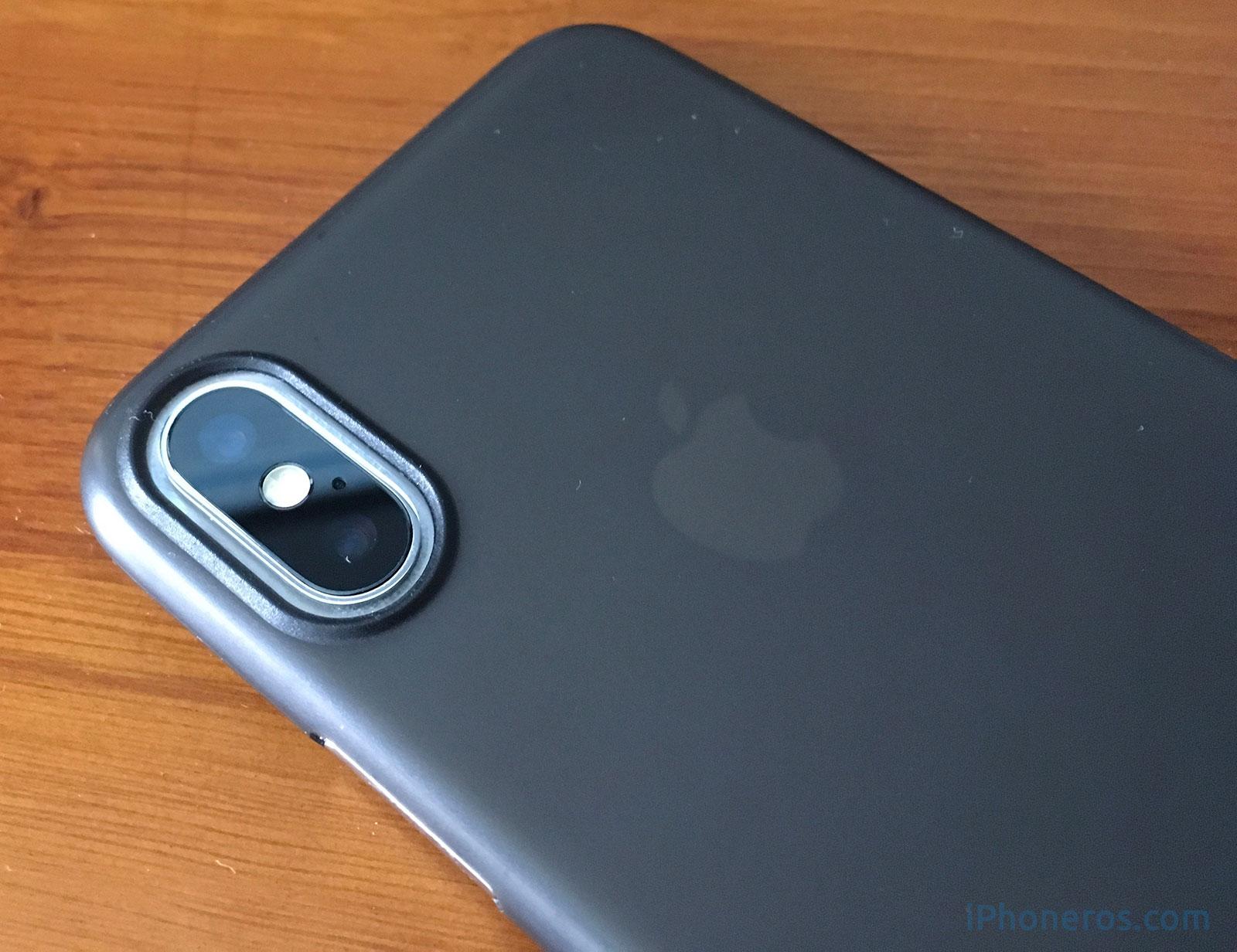 Cámara doble trasera del iPhone X