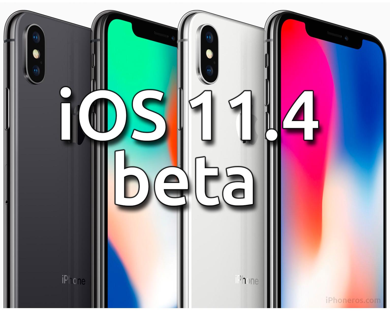 iOS 11.4 beta