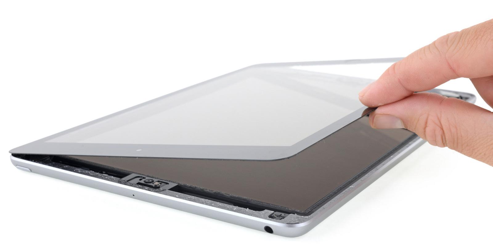 iPad 6 por dentro