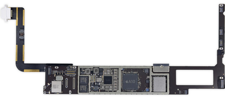 Placa base de un iPad 6