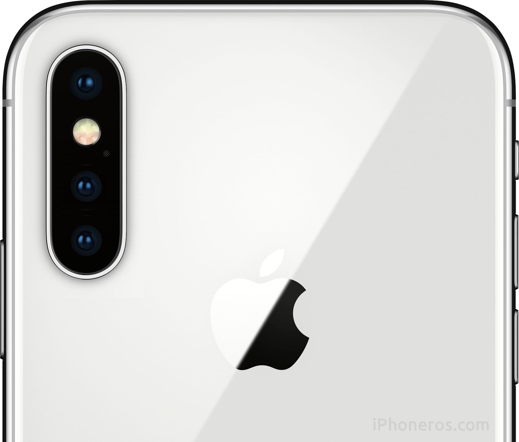 iPhone X con 3 cámaras traseras