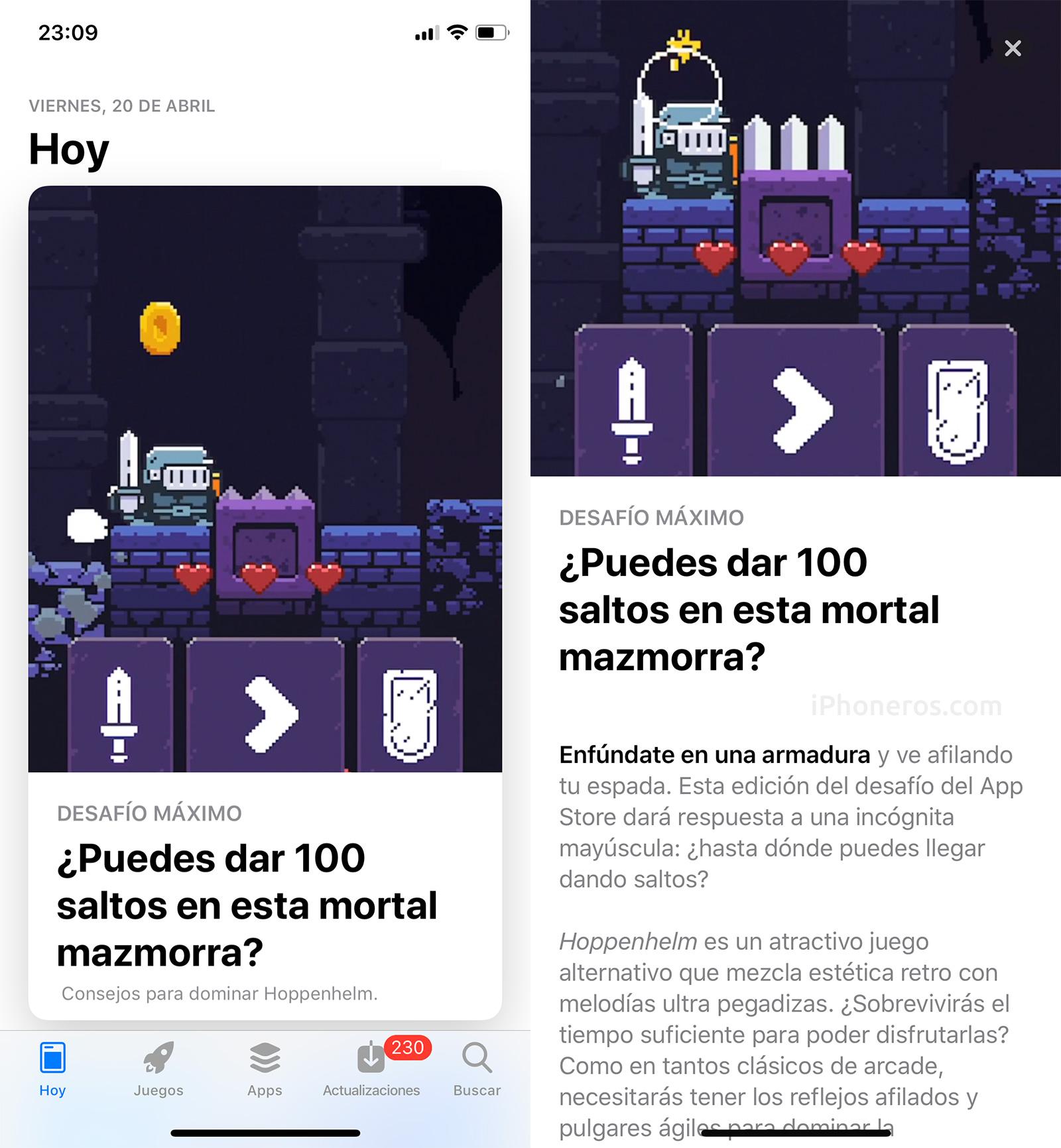 Juego del día en la App Store