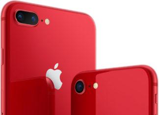 iPhone 8 y 8 Plus rojo de la serie (PRODUCT)RED