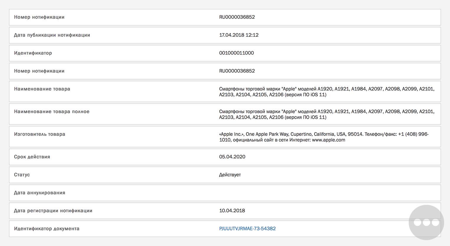 Registro de los nuevos modelos de iPhone