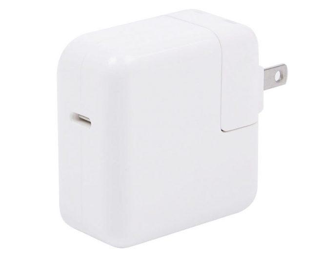 Cargador de 29W con puerto USB-C