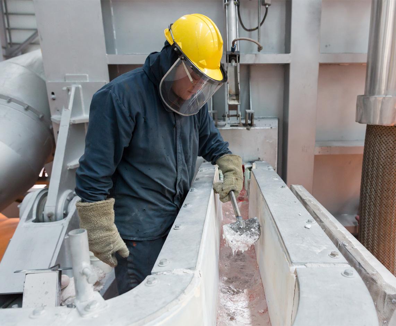 Aluminio producido por Elysis