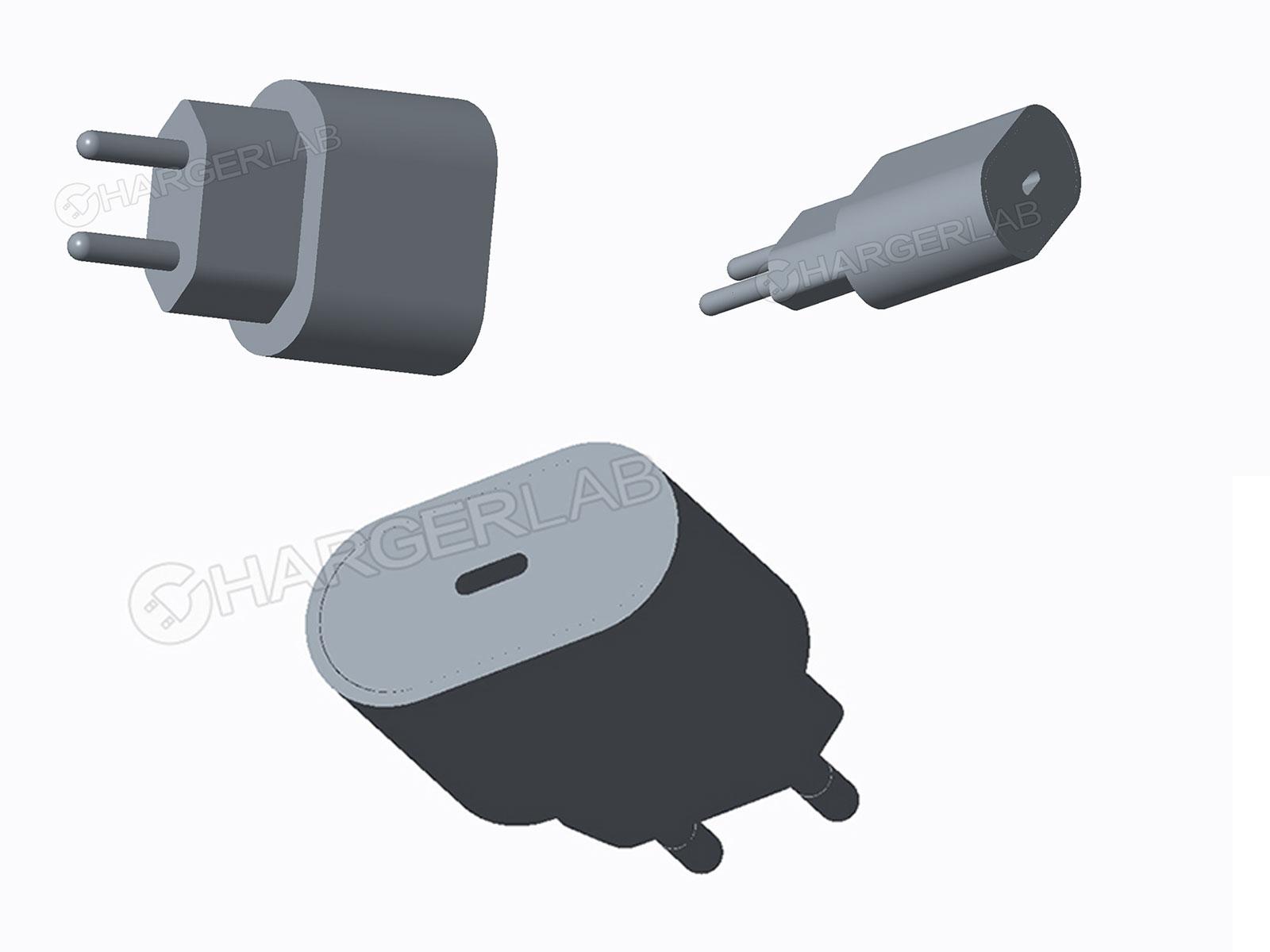 Imágenes generadas por ordenador del hipotético cargador USB-C para iPhone