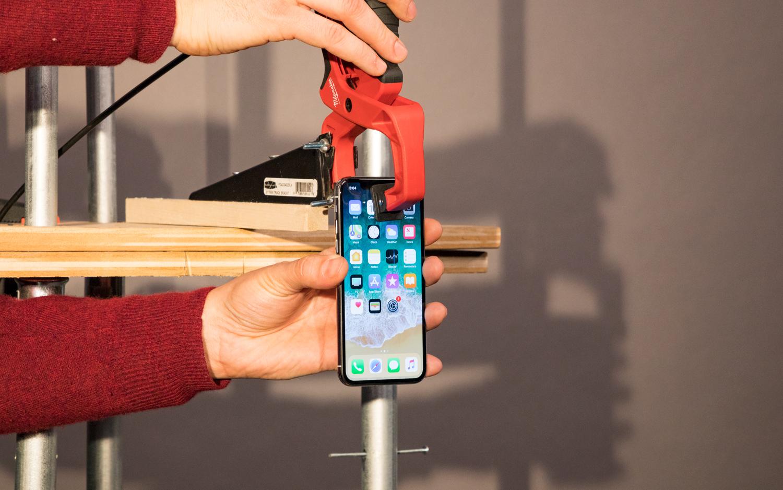 Prueba de caídas del iPhone X