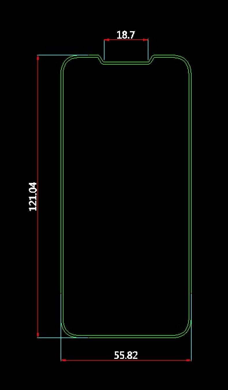 Esquemas del supuesto iPhone SE 2 del fabricante de fundas Olixar