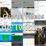 Guardar vídeos de Twitter™ en el iPhone