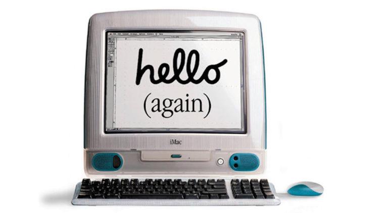 Presentación del iMac original