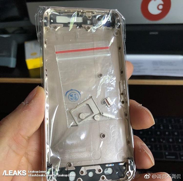 Supuesta carcasa de iPhone SE 2