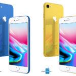 Concepto de boceto de iPhone LCD del año 2018