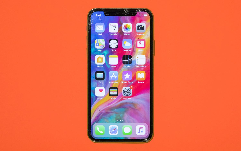 iPhone X roto