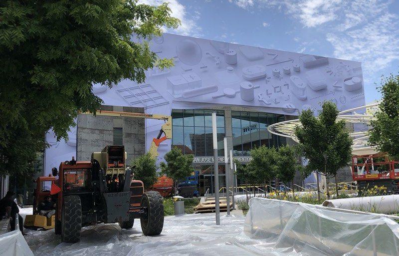 Centro de convenciones en donde se celebra la WWDC 2018