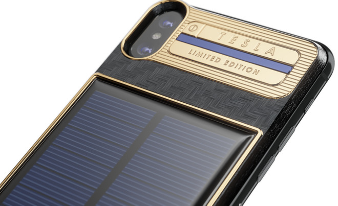 tesla funda iphone