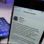 Supuesta version de iOS™ 12