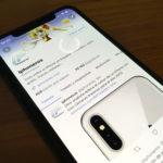 Twitter en el iPhone X