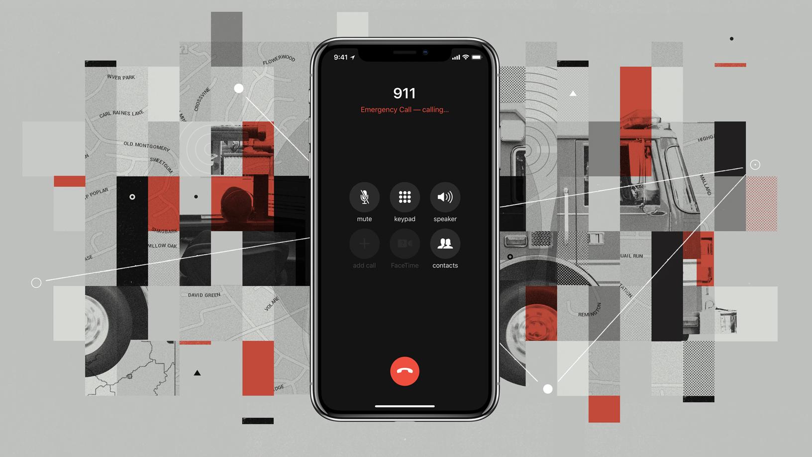 Llamadas de emergencia en el iPhone