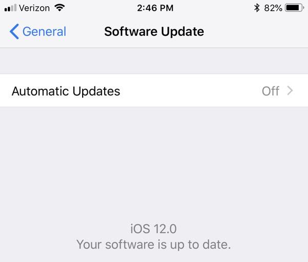 Actualizaciones automáticas