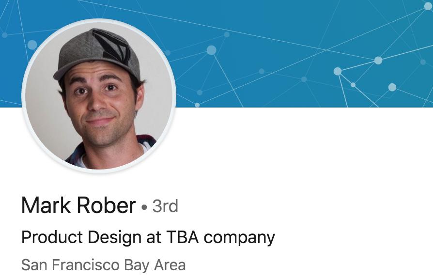Mark Rober en LinkedIn